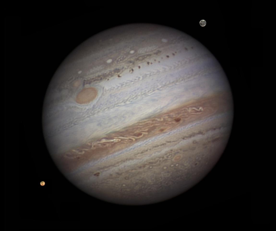 Jupiter Mars conjunction