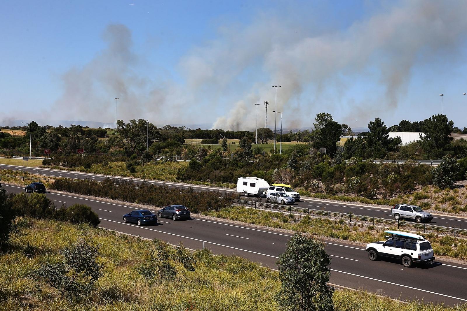 Melbourne fire
