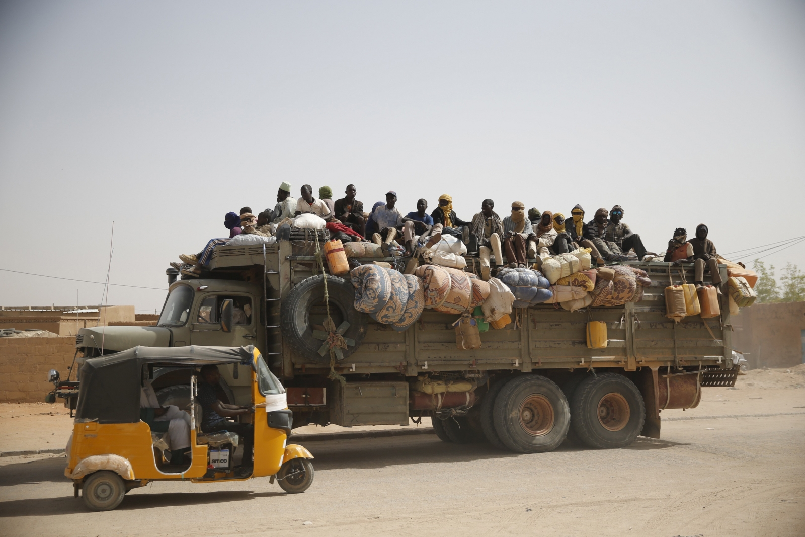 Escape from 'the hell': Thousands of Nigerians facing rape and slavery in Libya returning home
