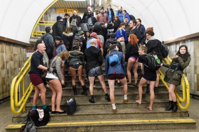 No Pants Subway 2018