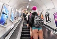No pants subway 2018