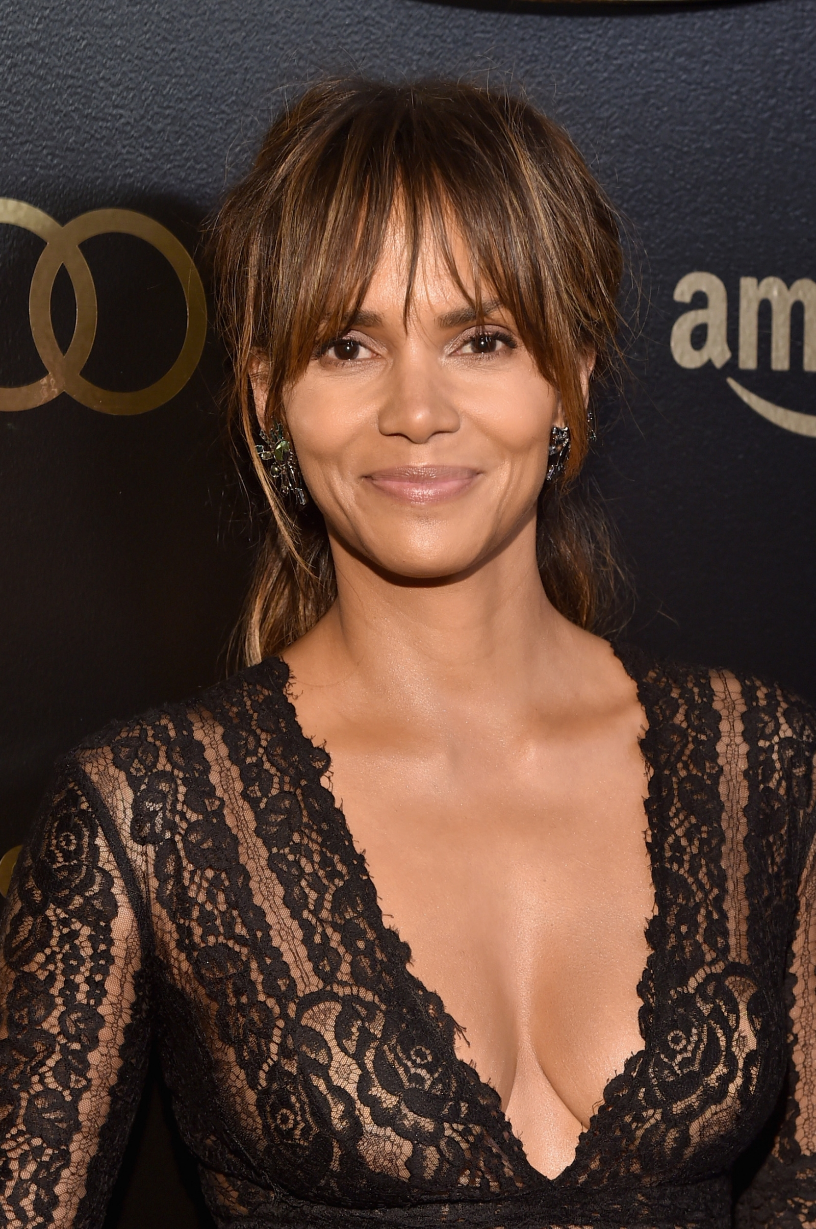 Watch Halle berry see through video
