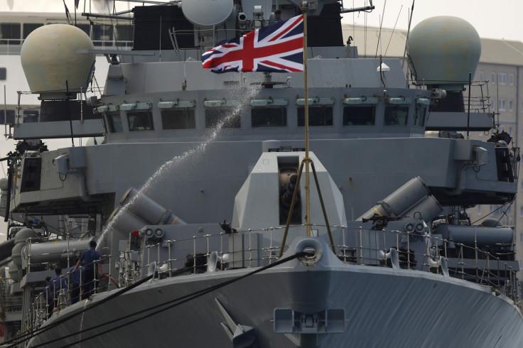 British Royal Navy frigate HMS Westminster
