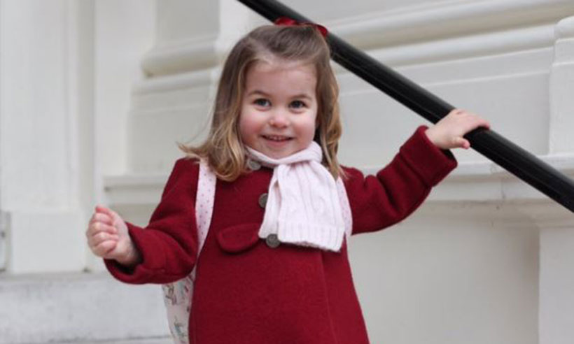 Princess Charlotte on her first day of nursery Duchess of Cambridge