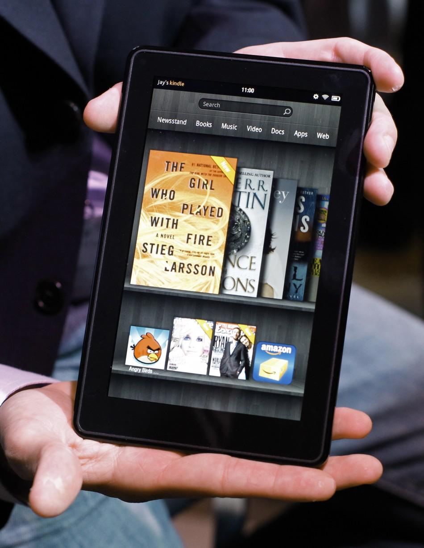 2. Kindle Fire wont ship until November.