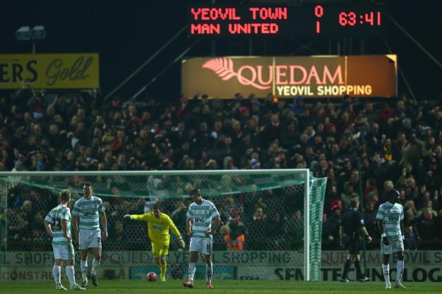 Yeovil vs Manchester United