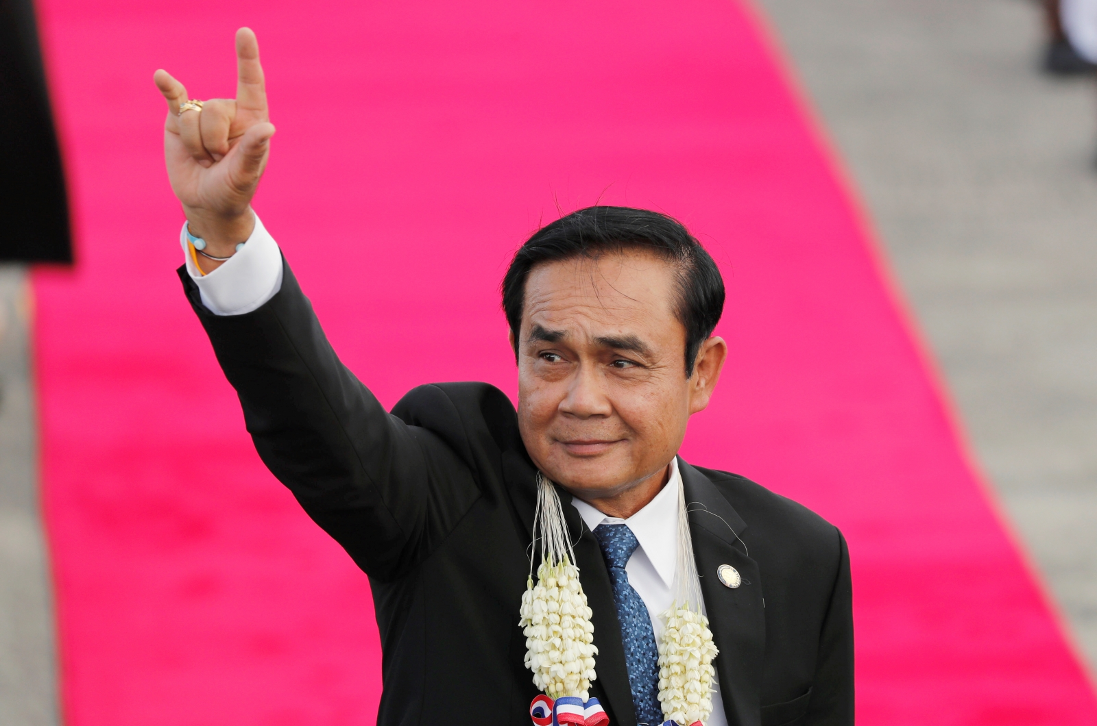 Thai leader tells reporters to quiz cardboard cutout instead