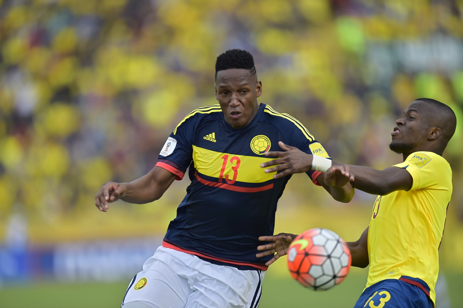 Leicester threaten Barcelona plans for Palmeiras defender Yerry Mina