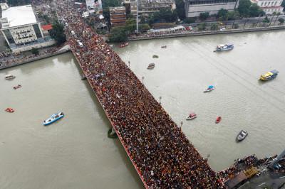 Philippines Black Nazarene Manila