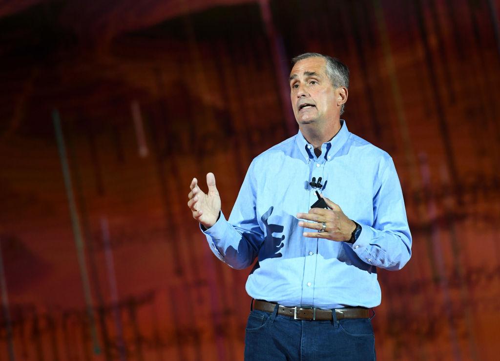 Intel Corp. CEO Brian Krzanich