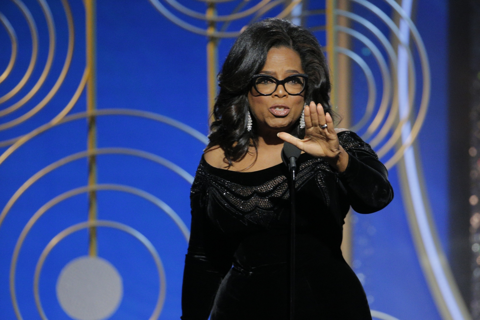 I would beat Oprah but I don't think she'll run — TRUMP