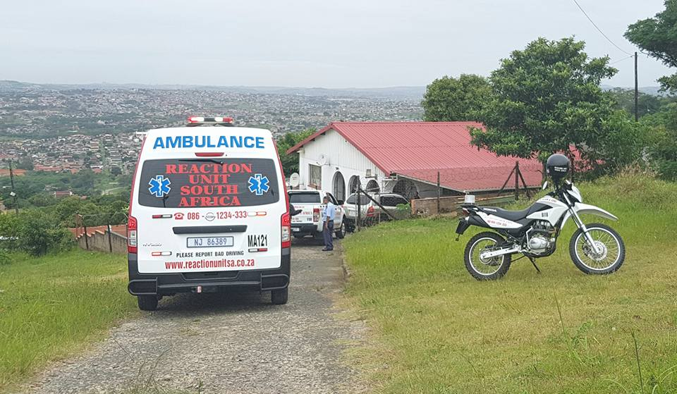 Robbed home in South Africa