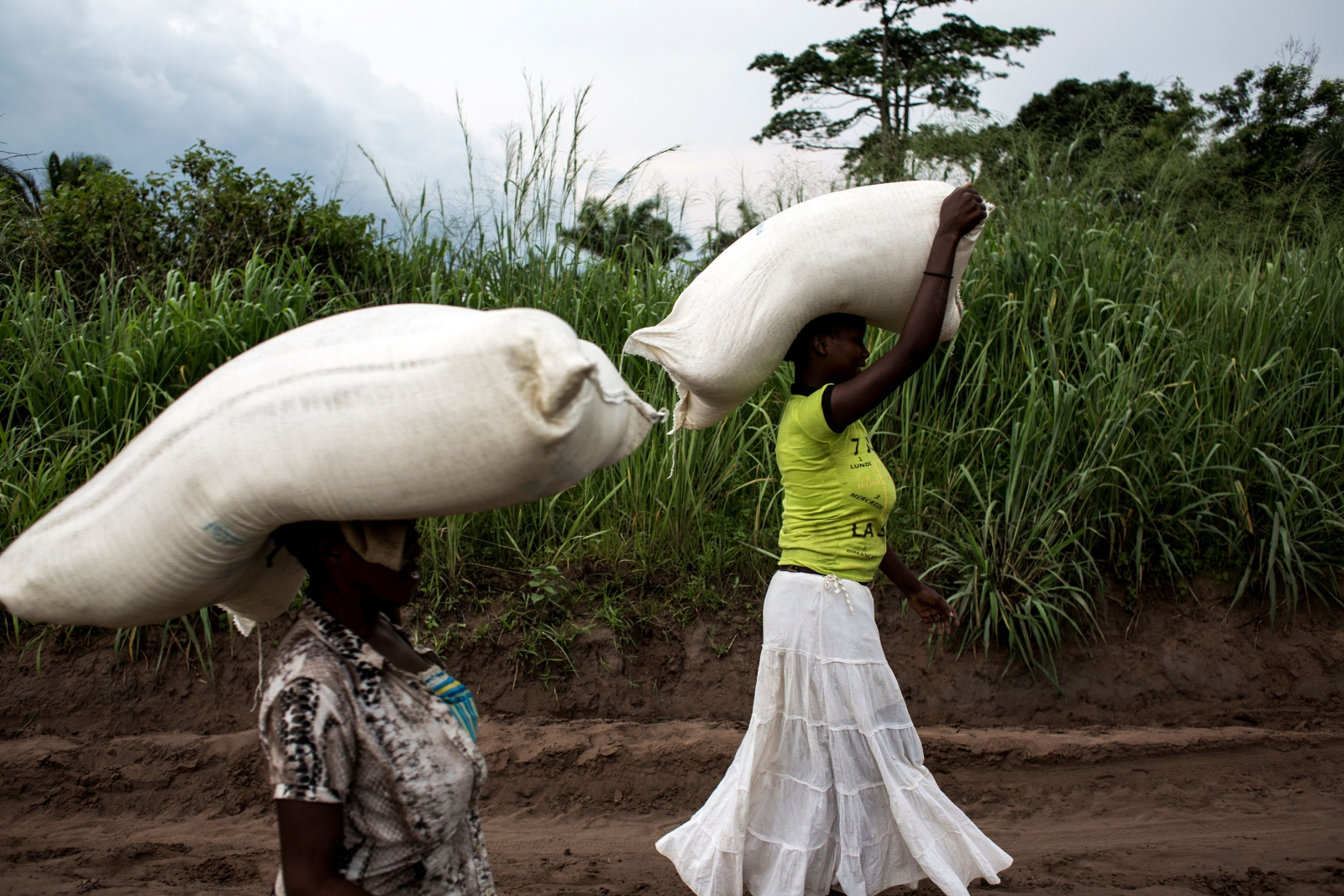 Women resilience famine