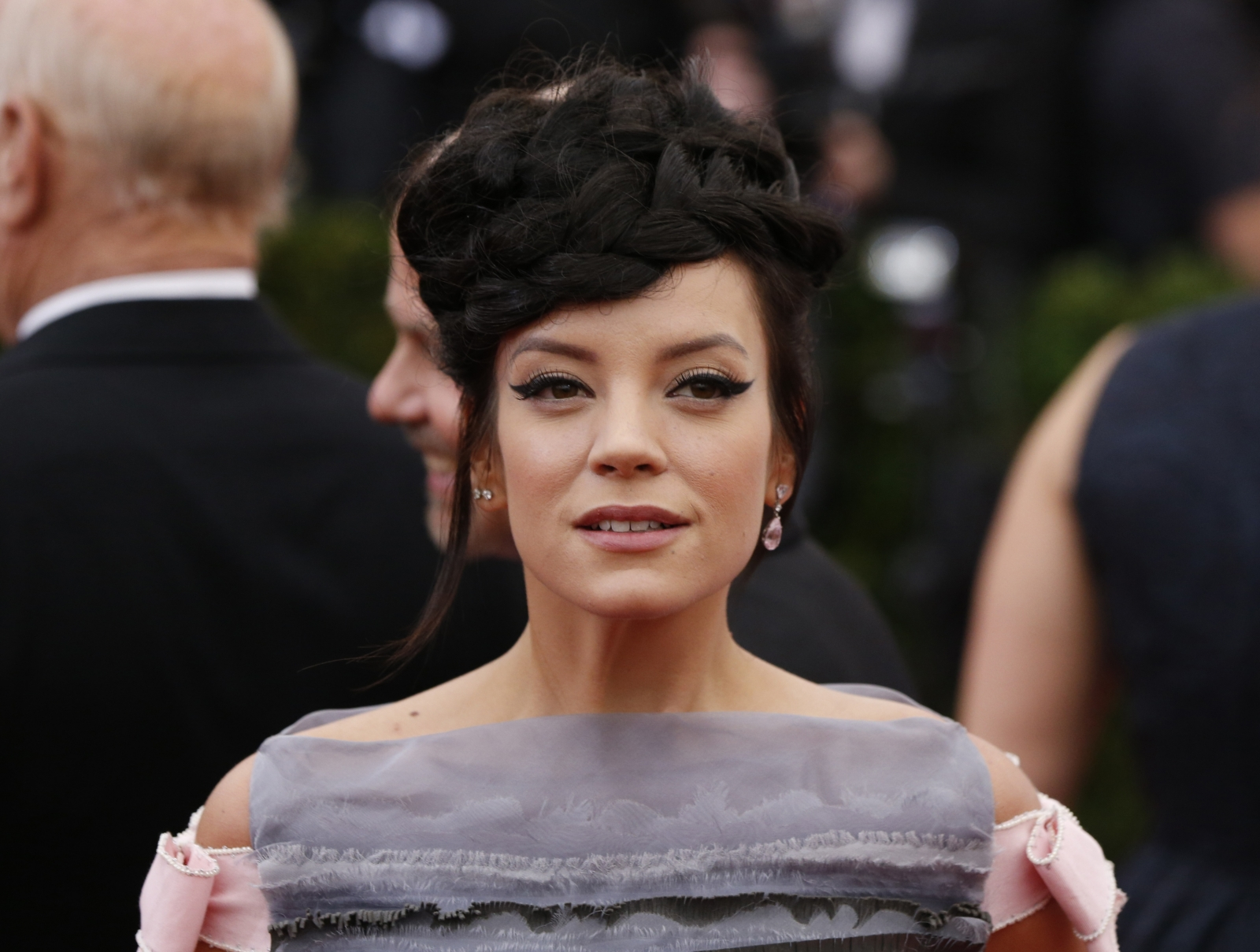 Lily Allen's 'would have been raped by somebody else' comment on Rochdale abuse victims sparks outrage