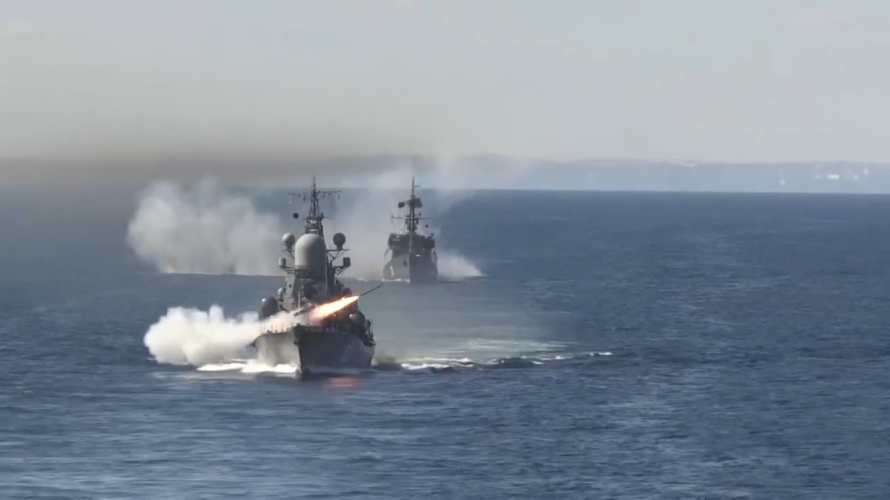 Russian navy releases a 'year in review' video