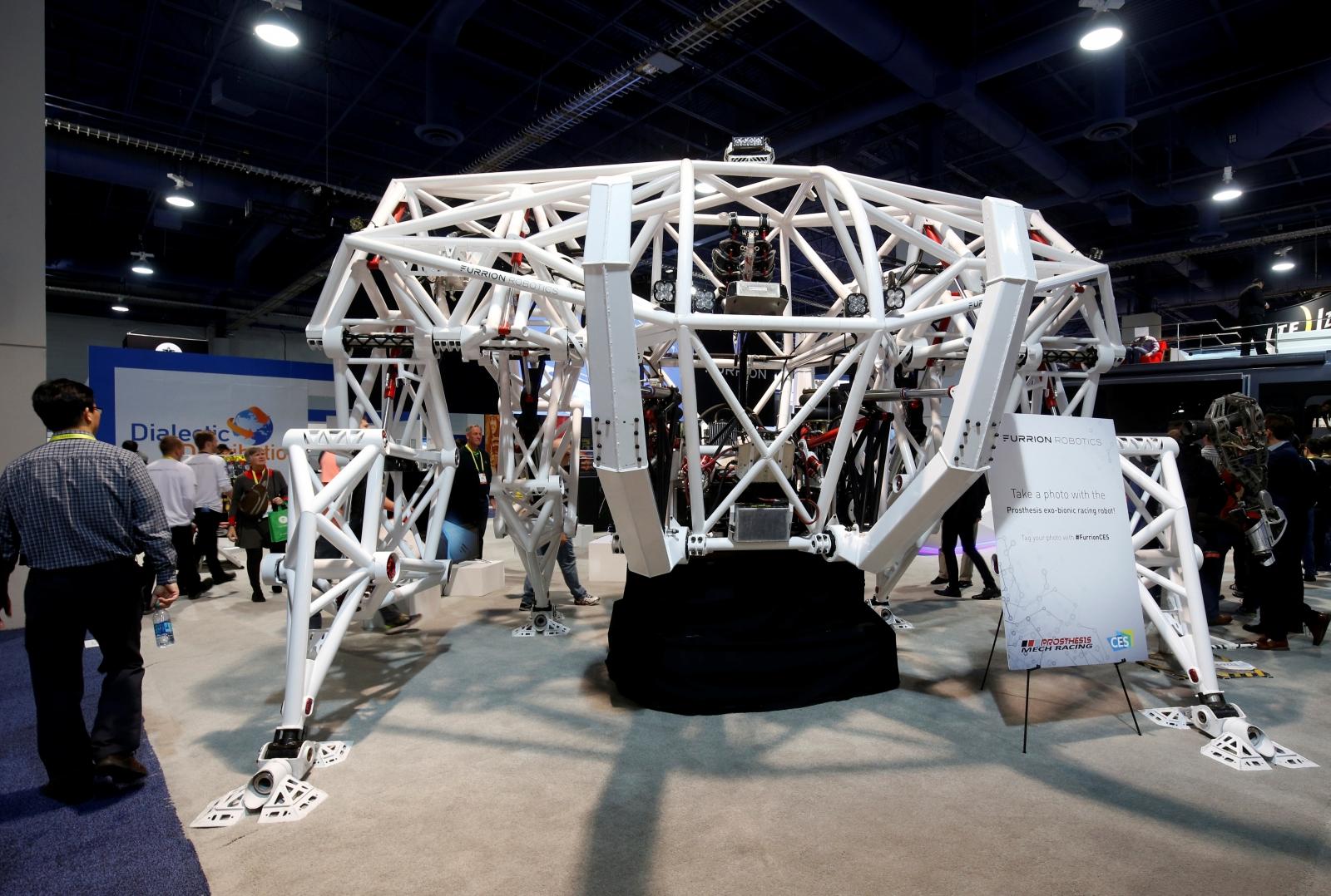 Prosthesis robotic exoskeleton