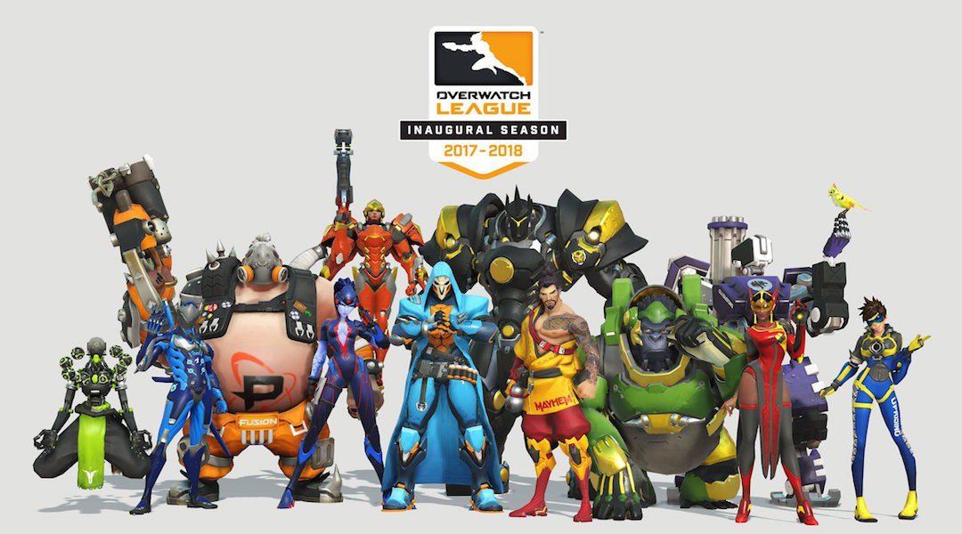 Overwatch League set to launch as expensive team skins go live