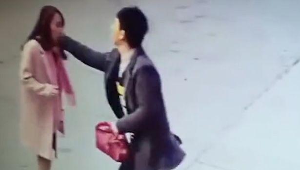 Chinese vendor assault