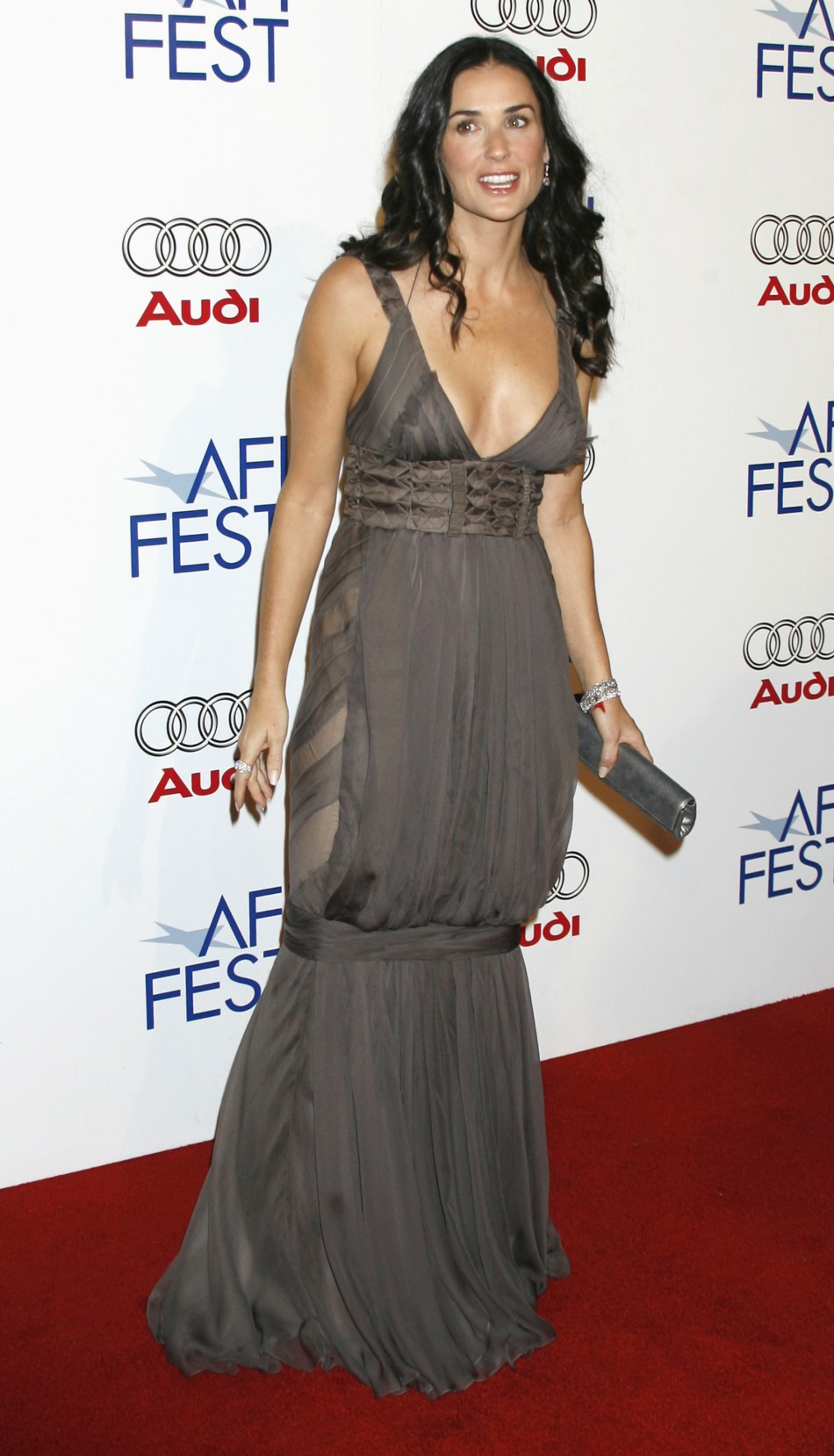 Actress Demi Moore arrives at the opening night gala of the AFI Fest and US premiere of the film quotBobbyquot in Hollywood