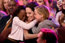 Angelina Jolie adopted daughter Zahara