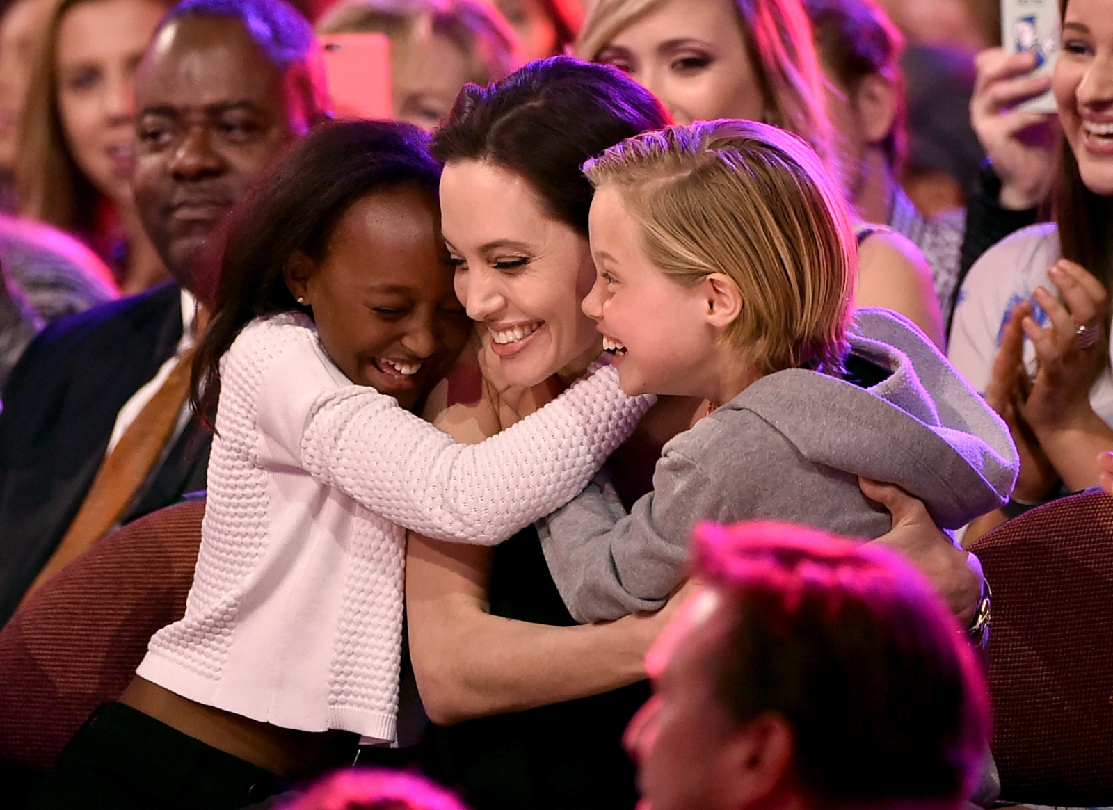 Angelina Jolie adopted daughter Zahara