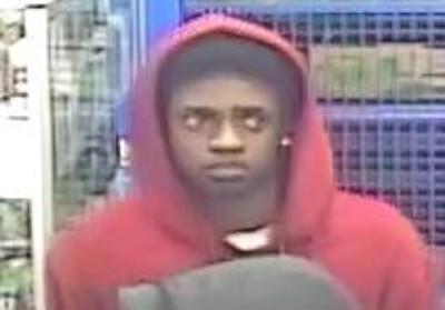 CCTV image of a teenager police seek