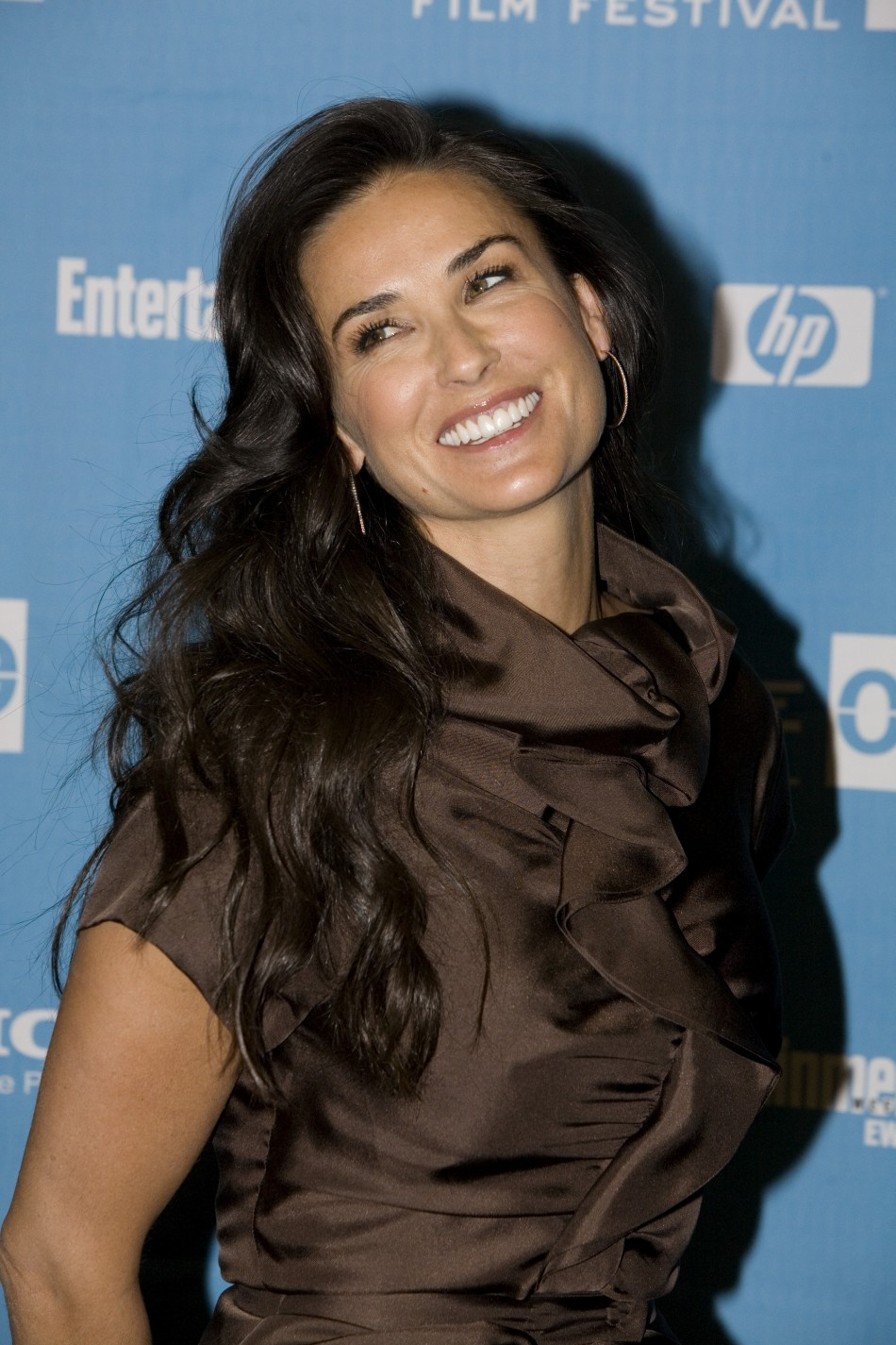 """Actress Demi Moore attends the premiere of the movie """"Spread"""" during the 2009 Sundance Film Festival in Park City, Utah."""