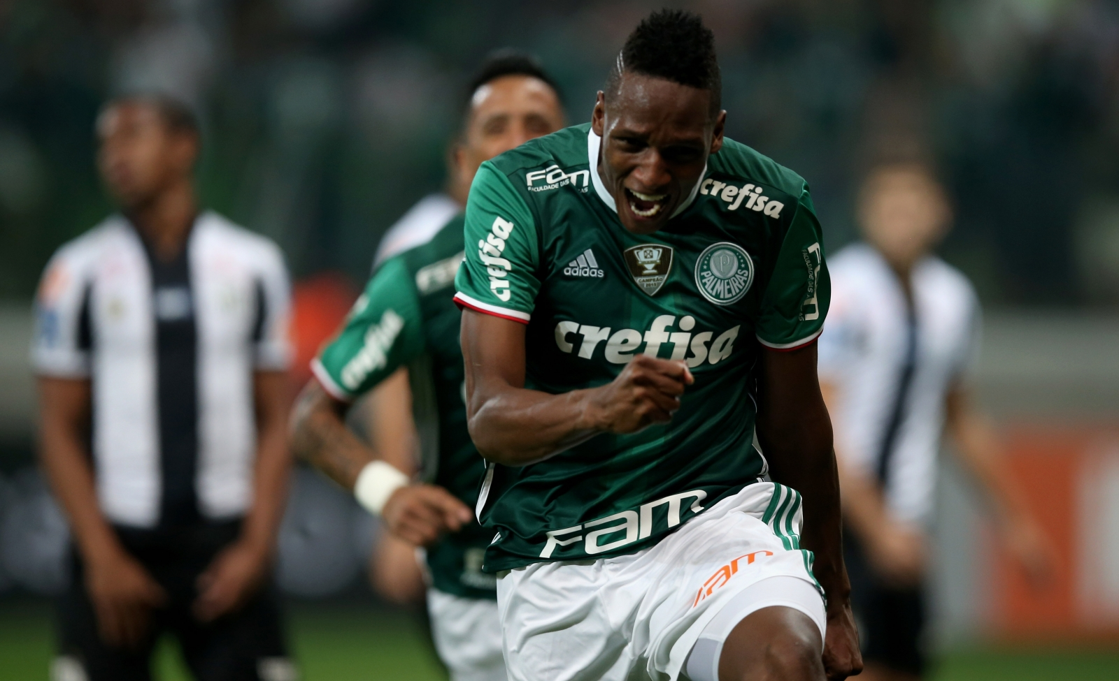 Barcelona sign Yerry Mina from Brazilian club Palmeiras