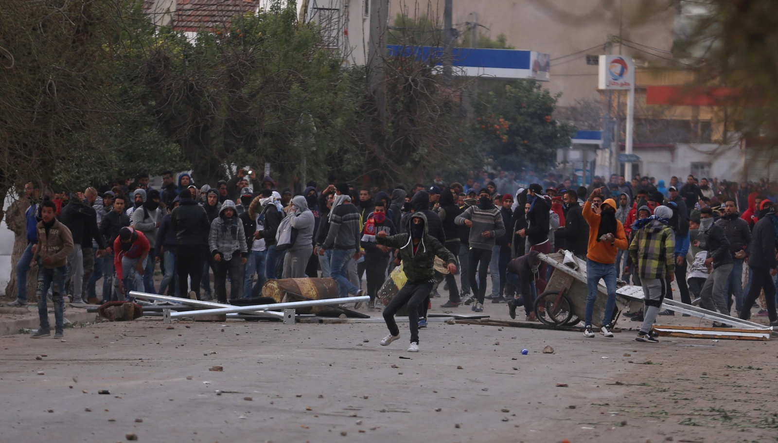 Tunisia anti-government protests