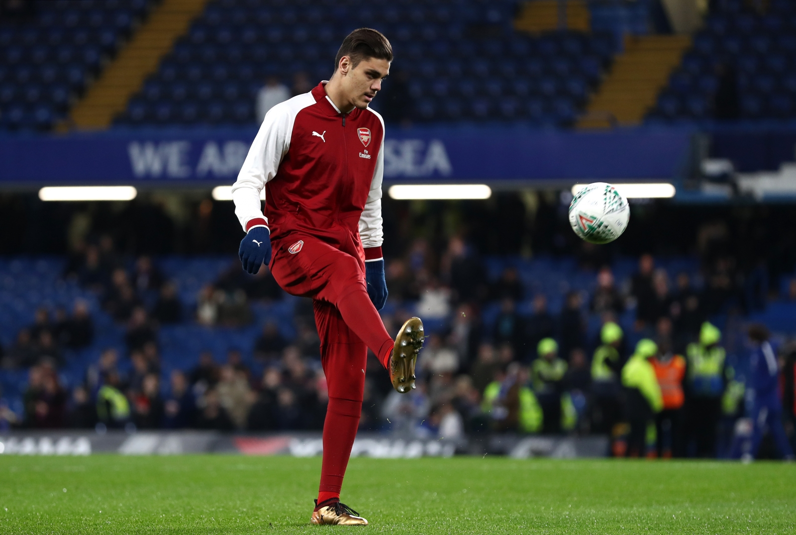 Wenger confirms U-turn over Arsenal defender Mavropanos