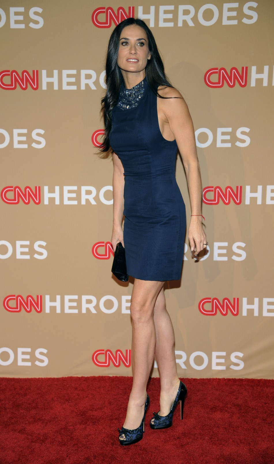 Actress Demi Moore attends the quotCNN Heroes An All-Star Tributequot in Los Angeles
