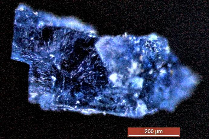 Crystals From Extraterrestrial Rocks Contain Building Blocks Of Early Life