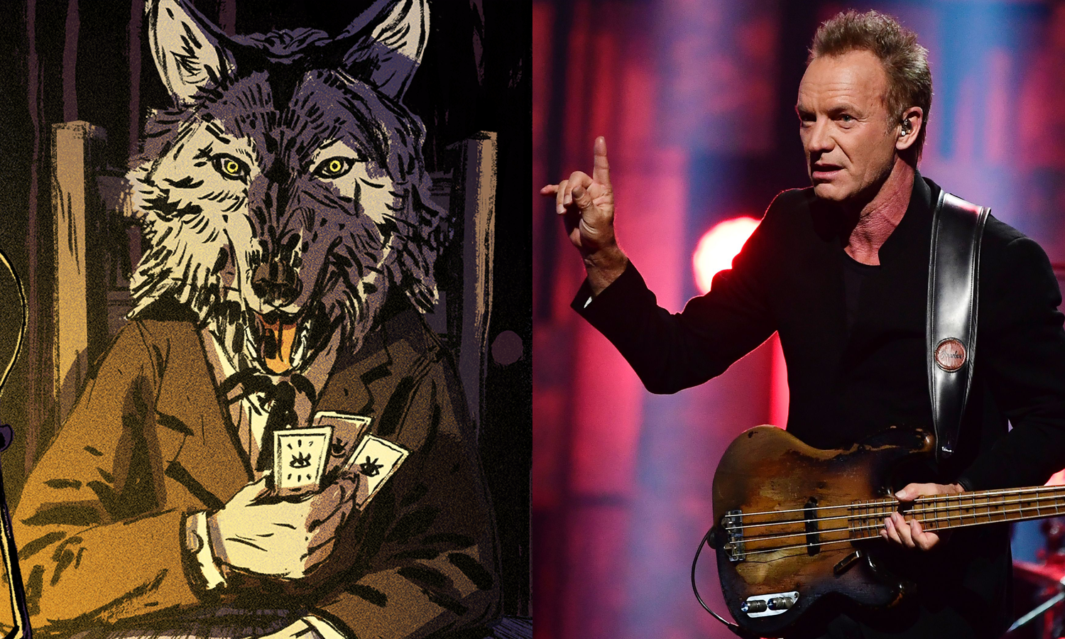Sting is the narrator in 'Where the Water Tastes Like Wine'
