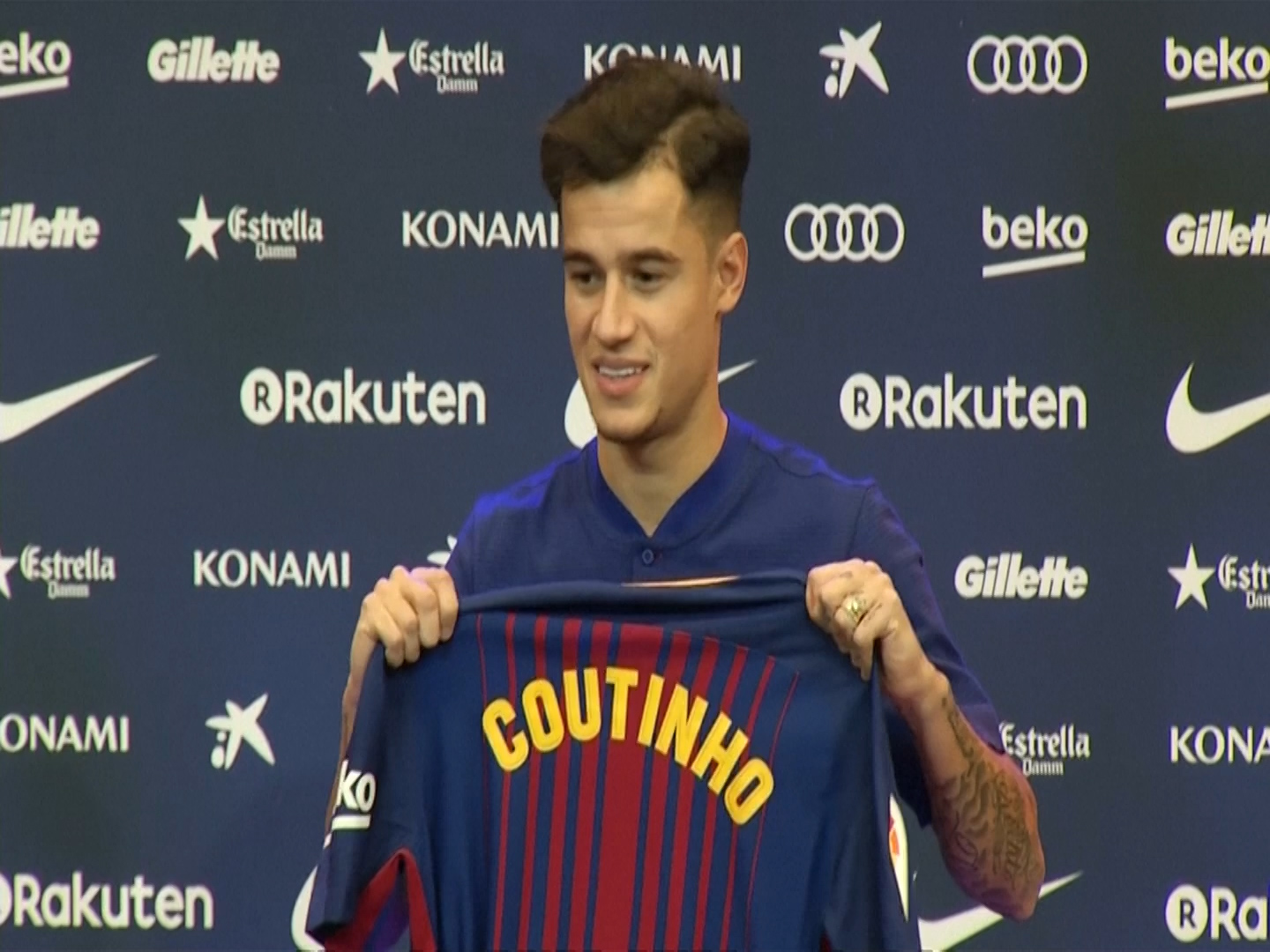 Coutinho says it was an 'easy decision' and his 'dream' to join Barcelona