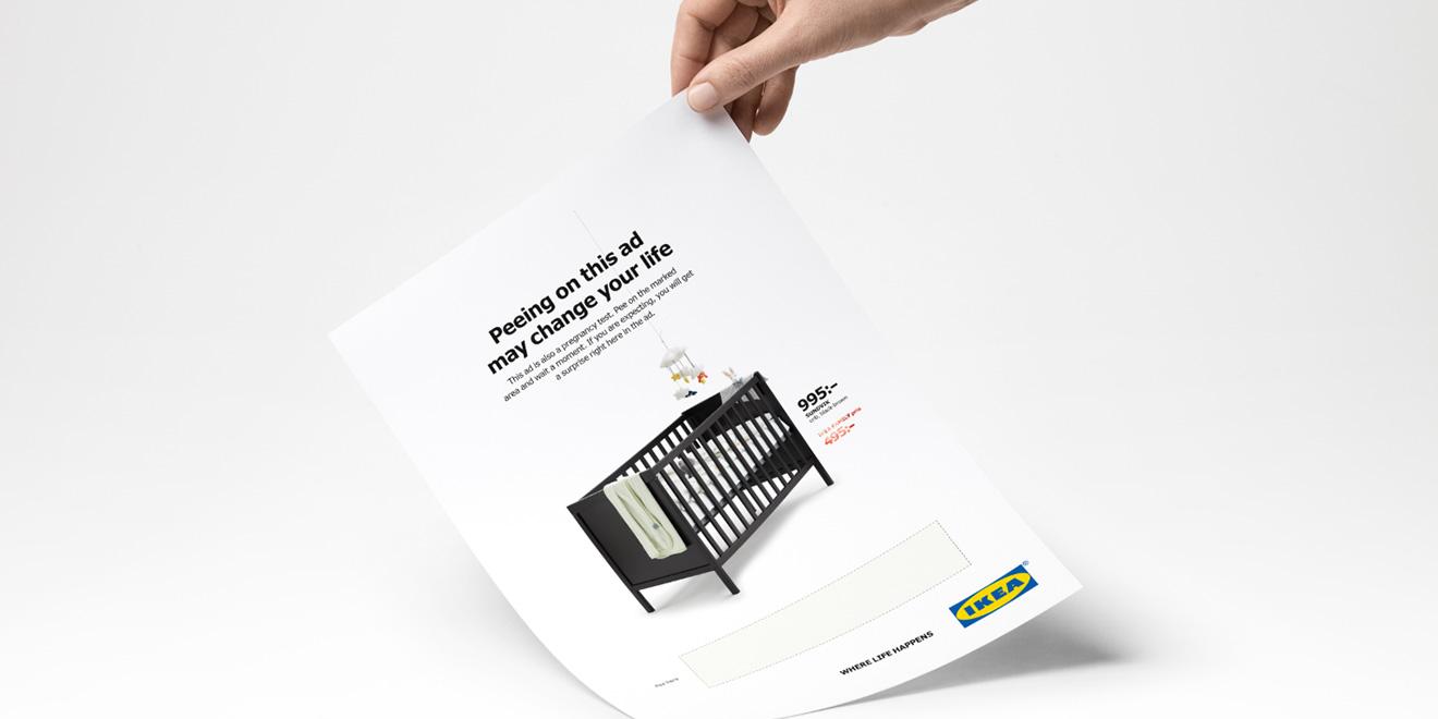 Ikea pee advert