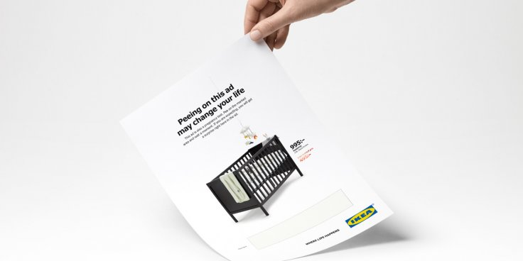 Ikea pee advert