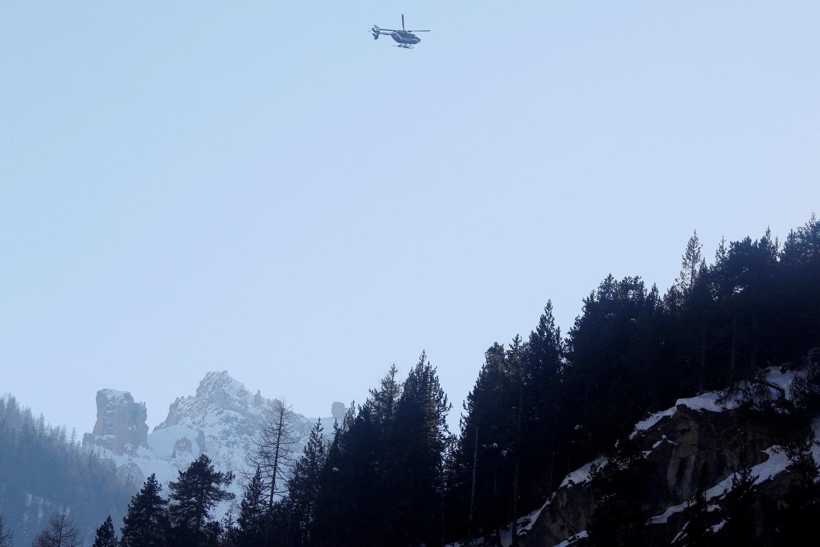 migrants Alps Italy France