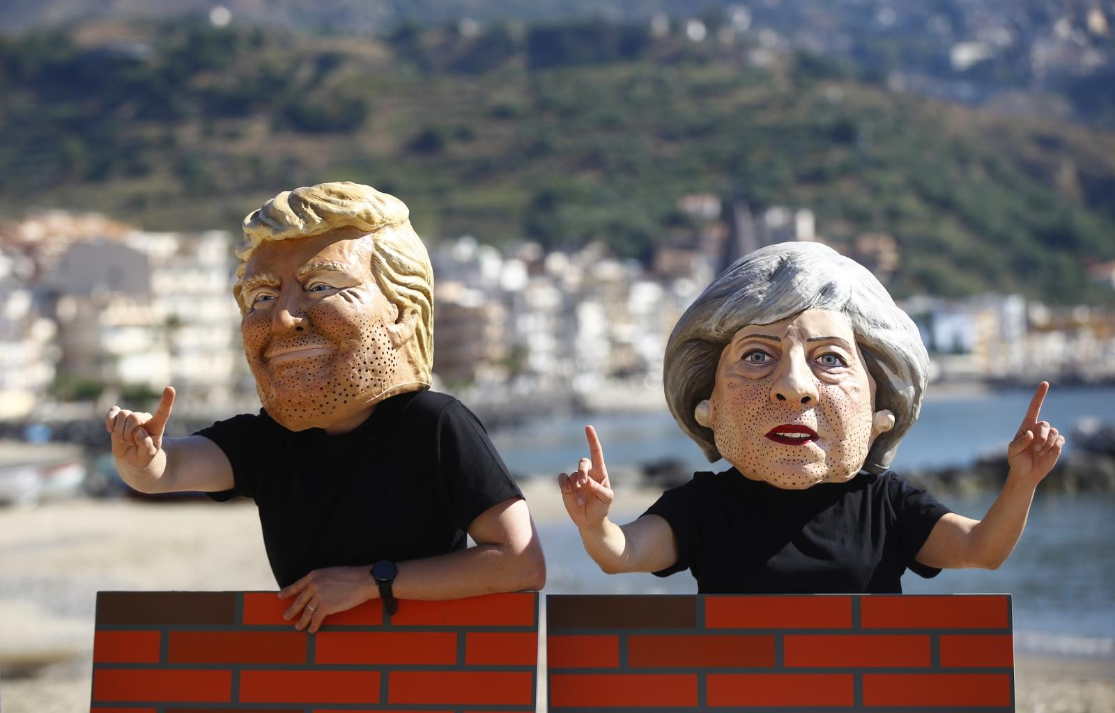 Donald Trump's UK visit