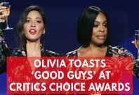 Olivia Munn And Niecy Nash Sarcastically Toasts 'The Good Guys' At Critics Choice Awards