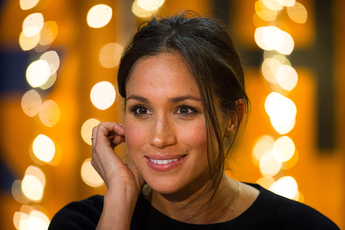 A glance again at Meghan Markle's social media