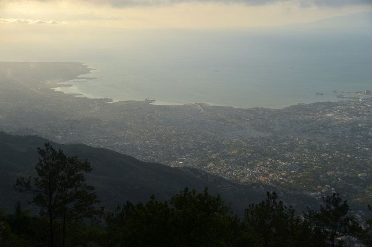 The city of Port-au-Prince