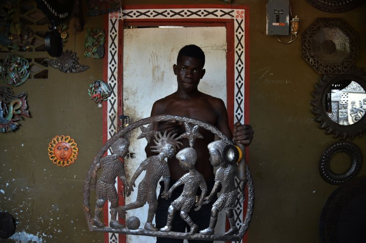 A Haitian artist