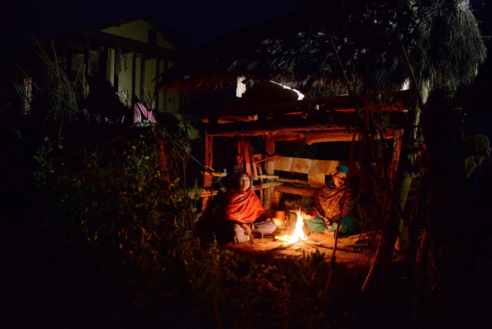 Nepal menstruation hut