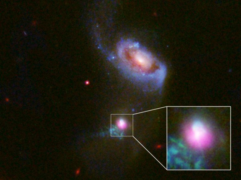 Galaxies supermassive black holes