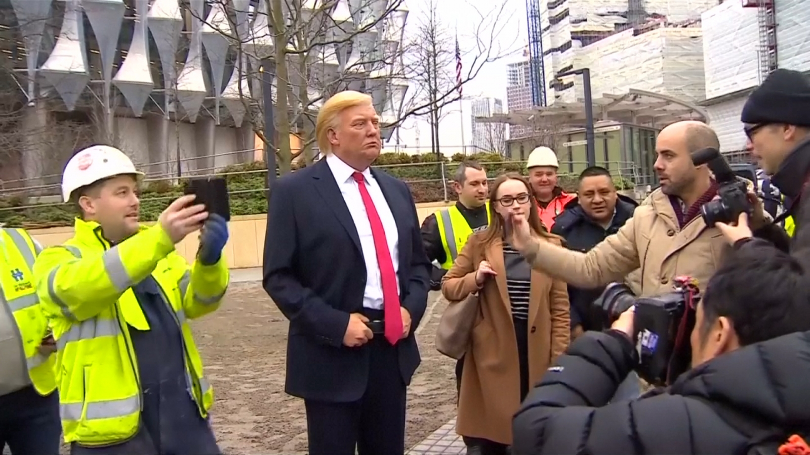 president-trump-wax-statue-erected-at-u-s-embassy-in-london