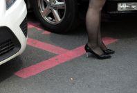 women parking spaces