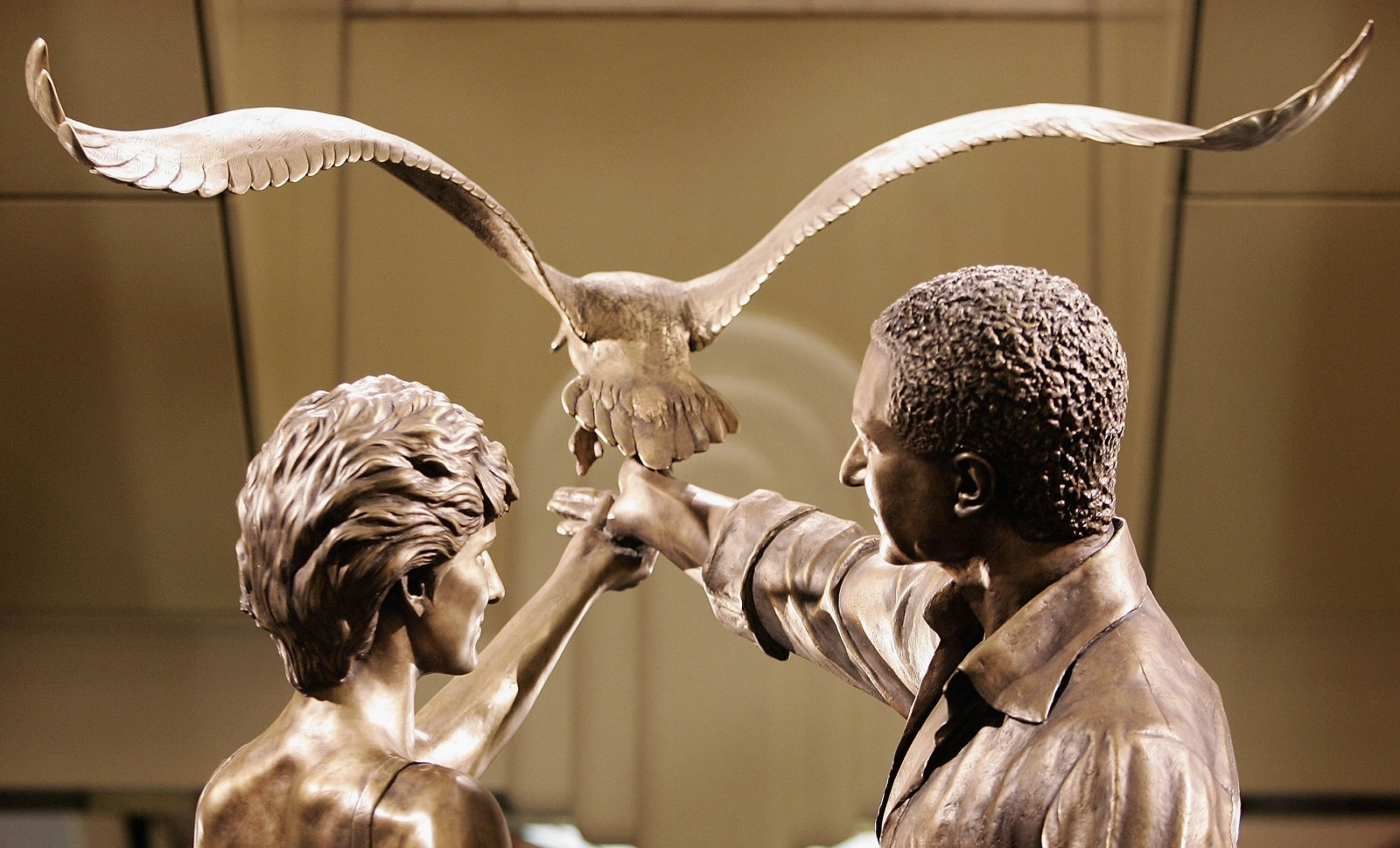 Princess Of Wales Memorial Unveiled At Harrods