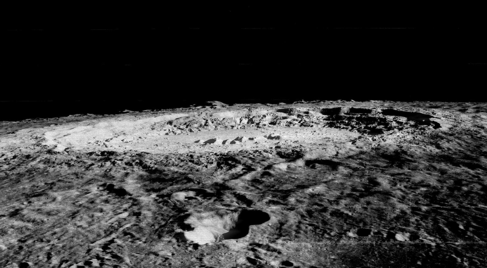 Lunar impact crater