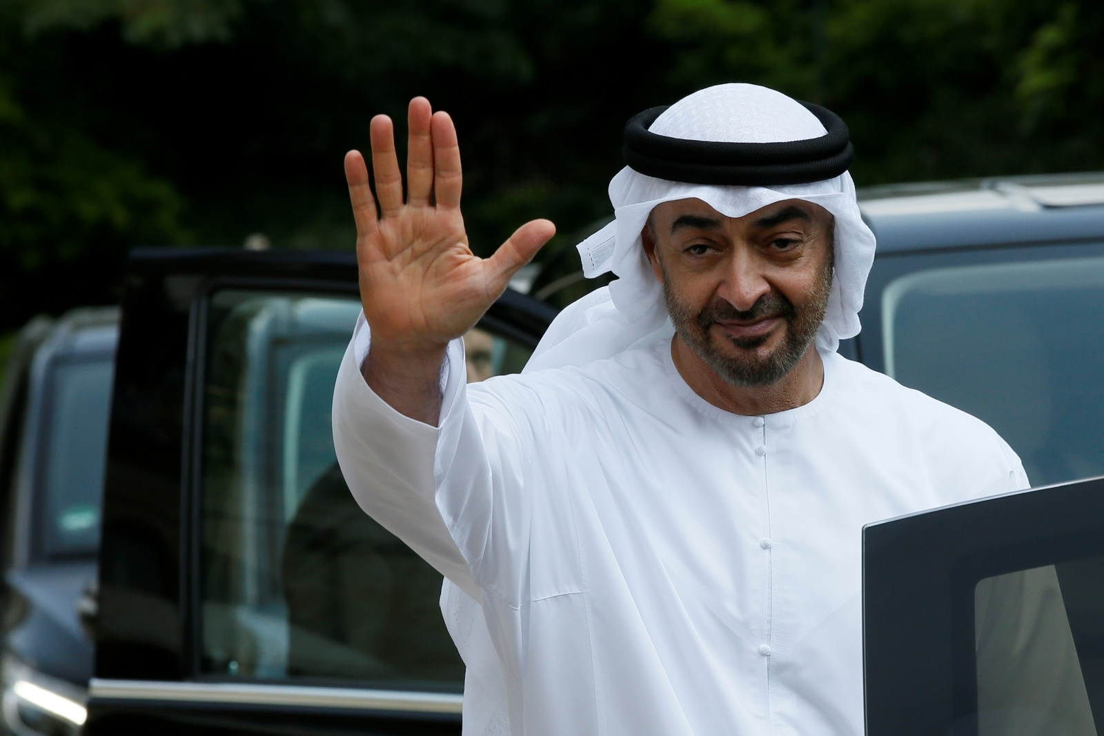 Crown Prince Sheikh Mohammed bin Zayed al-Nahyan