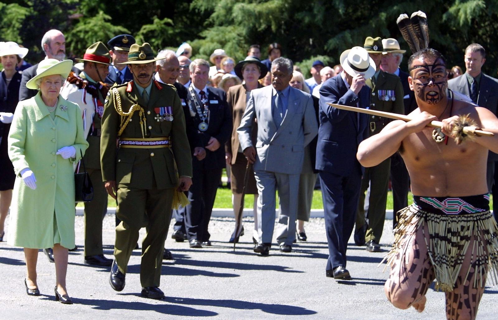 Queen Elizabeth New Zealand